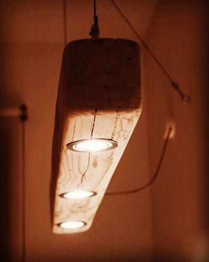 Fantastic wood lighting #light #wood #woodwork | Industrial