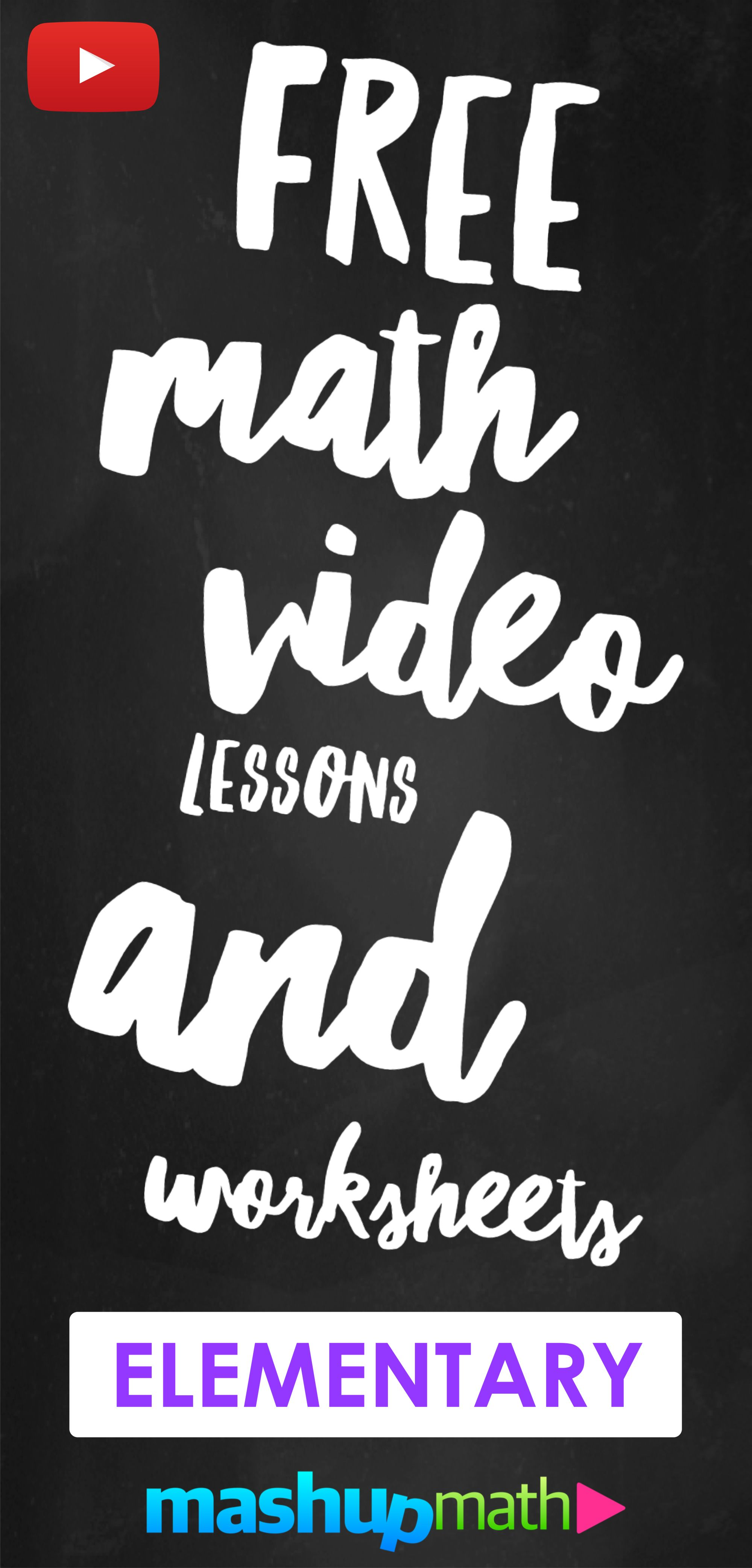 Learn Math With Our Library Of 100 Free Video Lessons On