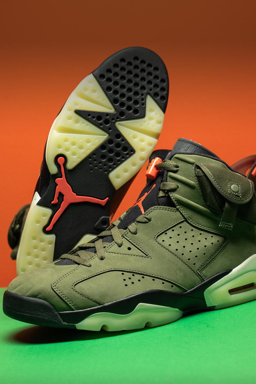 Air Jordan 6 Retro Cactus Jack Travis Scott Cn1084 200 2019 In 2020 Air Jordans Jordan 6 Jordans