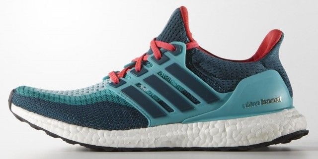 c95836c2cd8a Feb Shoes 2017 Adidas-Ultra-Boost-COLOURWAYS-Solar-Green-Red-Aqua ...