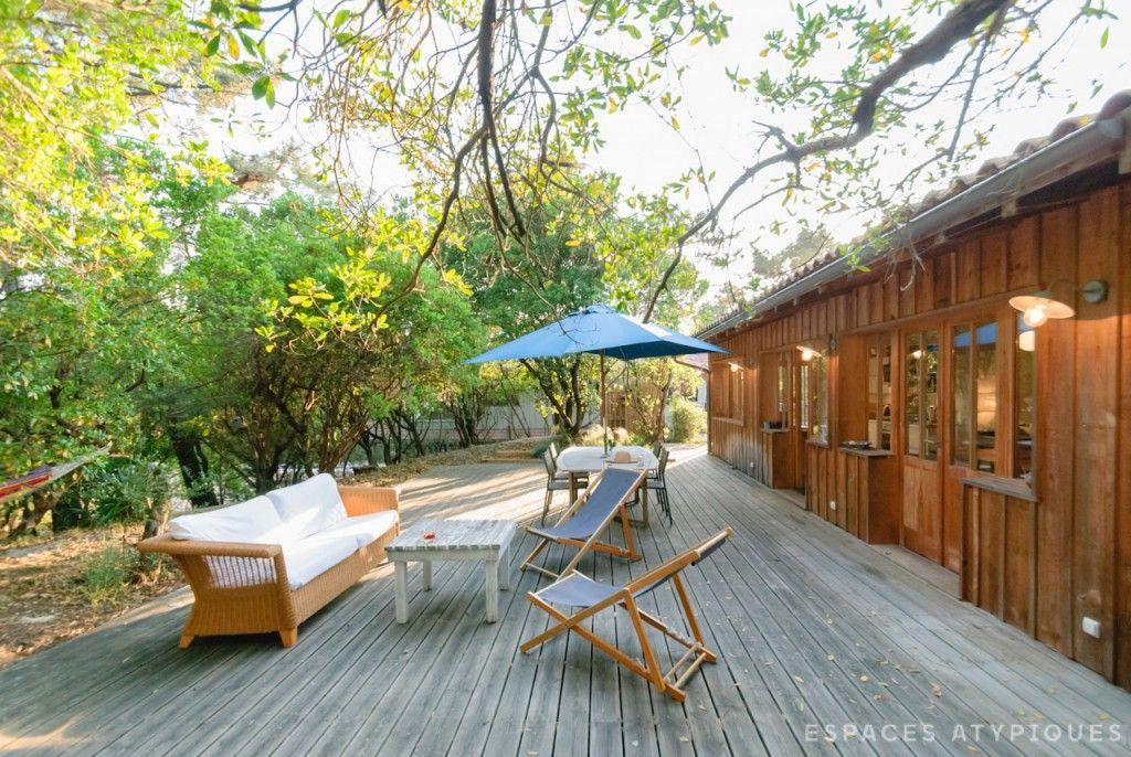 cap ferret villa esprit cabane la pointe agence ea arcachon cap ferret espaces. Black Bedroom Furniture Sets. Home Design Ideas
