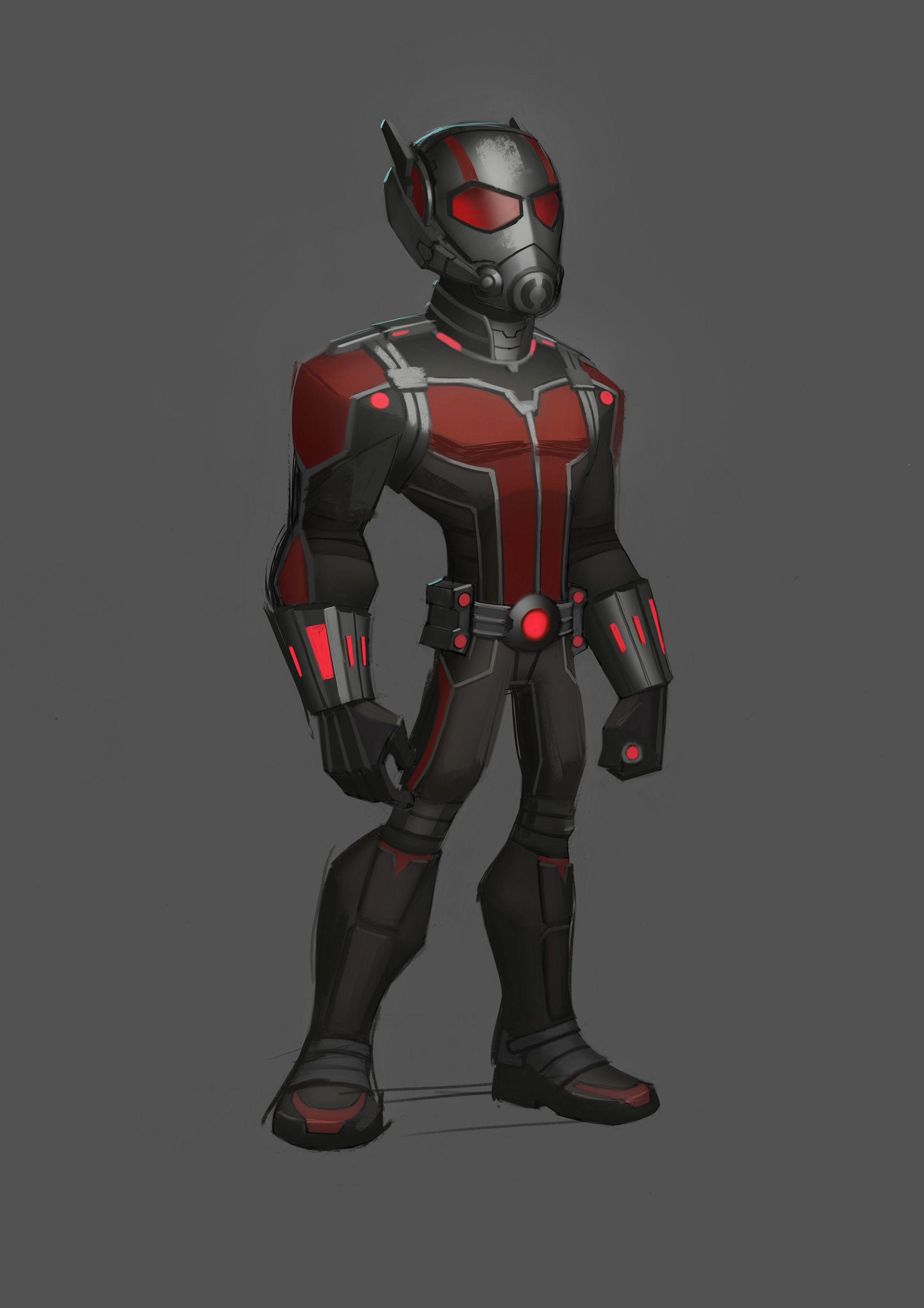 artstation - antman design for disney infinity marvel, josh black