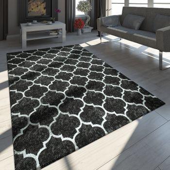 Teppich Marokkanisches Muster Schwarz Marokkanische Muster Teppich Schwarz Weiss Weisser Teppich