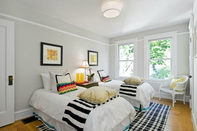 houzz paint colorsOff With the Wallpaper On with the Gray Paint  Benjamin moore
