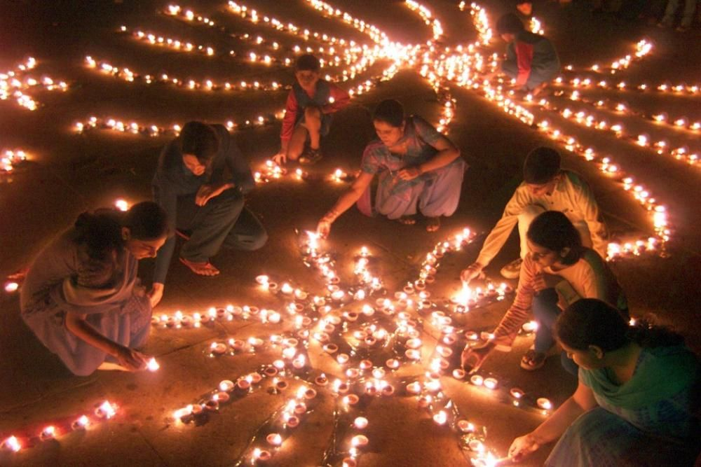 Diwali is a Hindu festival of lights which is celebrated in almost all parts of India. Diwal… | Festival lights, Hindu festival of lights, Diwali festival of lights