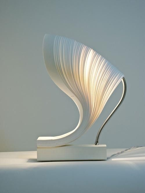 pics of unusal lamps | Unique Bedroom Lamp, Unique And Creative Wall ...