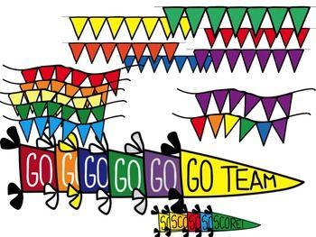go team score sports clip art classroom pinterest pennant rh pinterest com go team animated clipart let's go team clipart