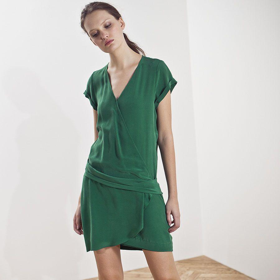 robe cache c ur ikks mode femme et 16 bh30045 wish. Black Bedroom Furniture Sets. Home Design Ideas