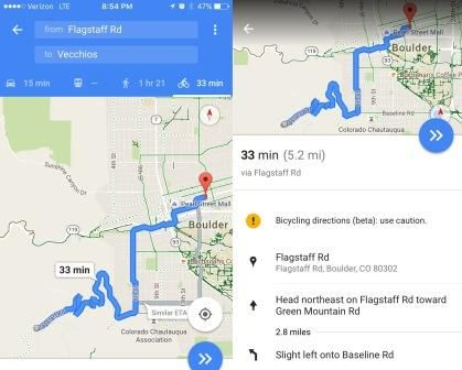 who says you have to use google maps only for driving directions if you love