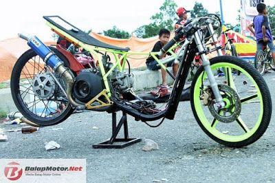 Gambar Modifikasi Motor Drag Mio Modifikasi Motor Drag