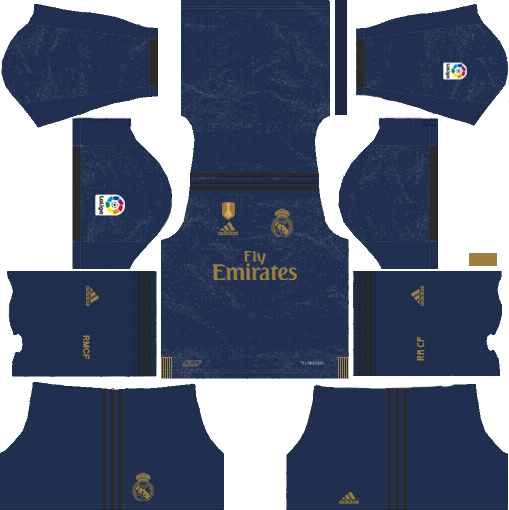 Real Madrid C F 2019 2020 Kit Dream League Soccer Real Madrid Kit Barcelona Football Kit Real Madrid