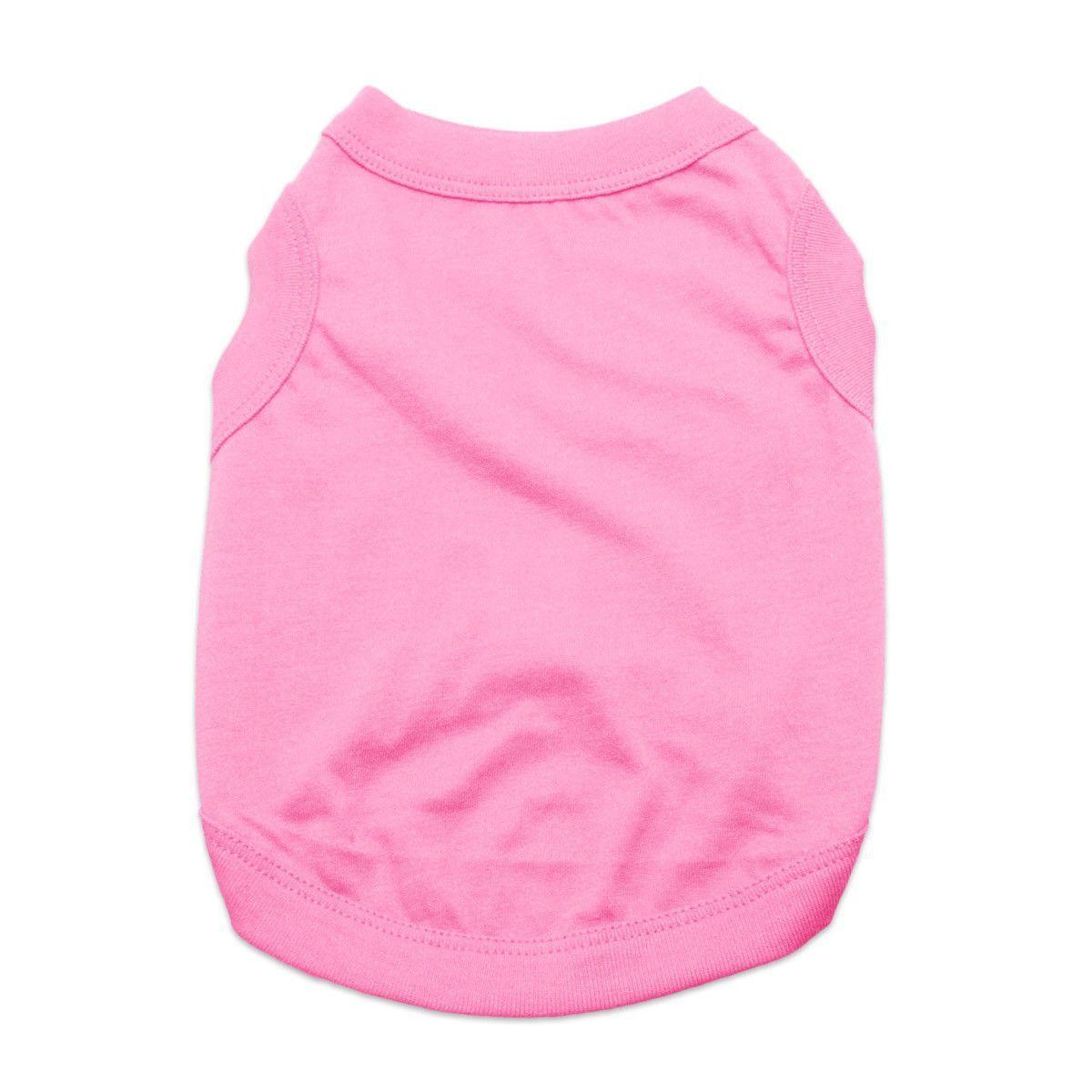 Barking Basics Dog Tank Shirt - Pink