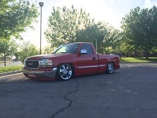 2000 Chevrolet Silverado 1500 Custom Truck Bagged For Sale