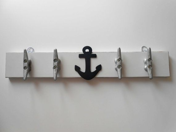 Coat Rack Nautical Nursery Lakehouse Decor By Laurenannalei 40 00