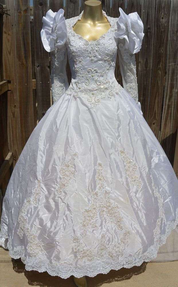 Vintage Wedding Dresses with Trains