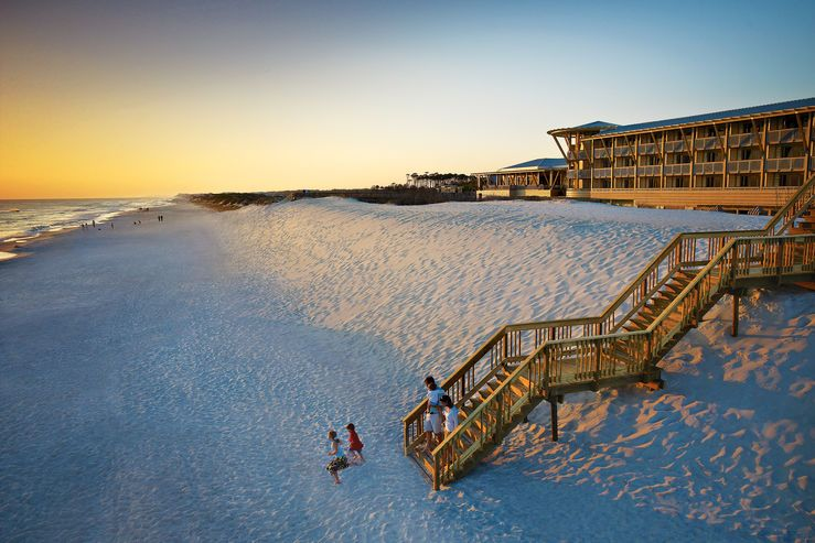 April Means Family Beach Time At Watercolor Inn Resort Places