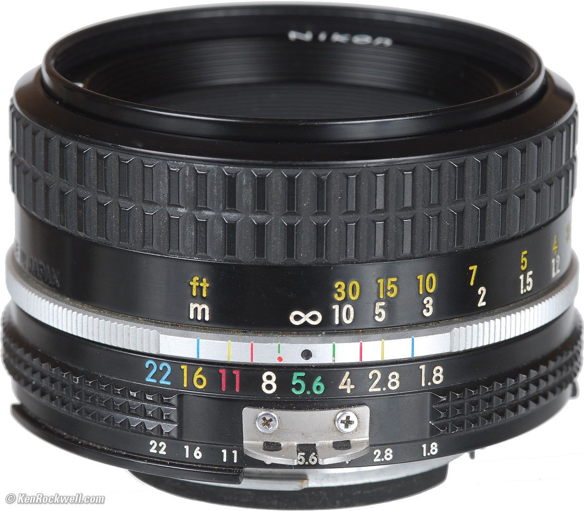 Nikon 50mm f/1.8 AI. Will be replacing my new AF-D with this AI or the early (long nose) AI-S soon. Same optical formula, but so much more solid and smooth than the current plastic body models.