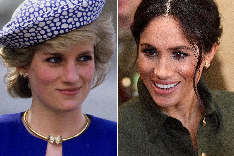 5 times meghan markle stepped out in princess diana s jewelry dress like a duchess princess diana jewelry princes diana meghan markle princess diana jewelry
