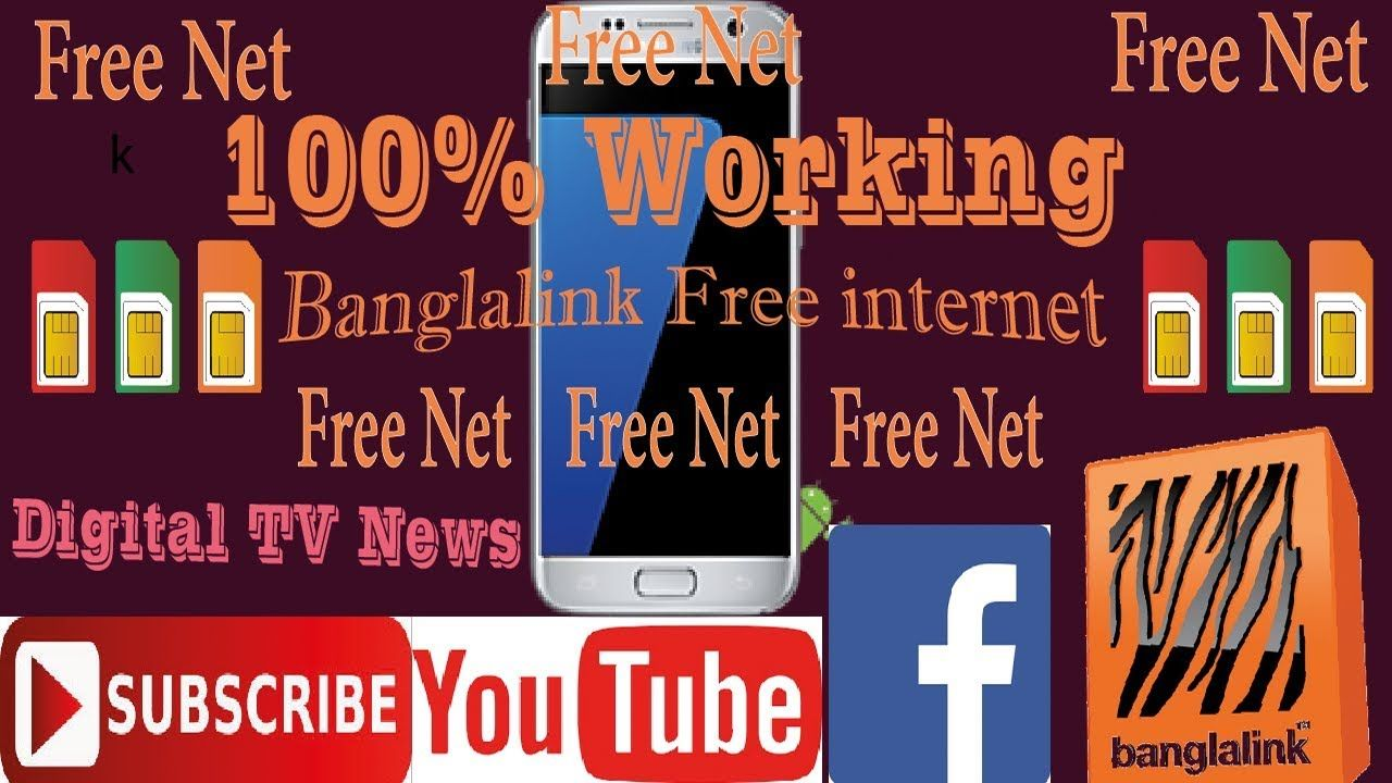 Banglalink Free Internet| bl free net| Unlimited And Full Speed