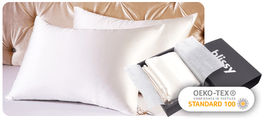 Blissy Sleep More Sleep Better And Sleep Comfy With The Best Silk Pillowcase Ever 100 Mulberry 22 Momme 6a Gr In 2020 Blissy Best Silk Pillowcase Silk Pillowcase