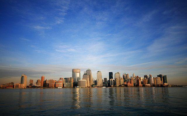 Downtown Manhattan New York Skyline