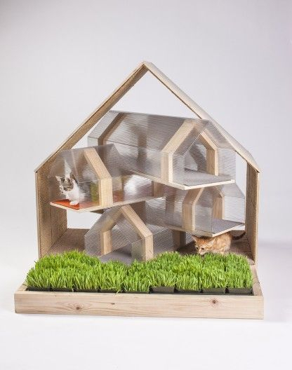 Architectural Animal Housing : cat shelter