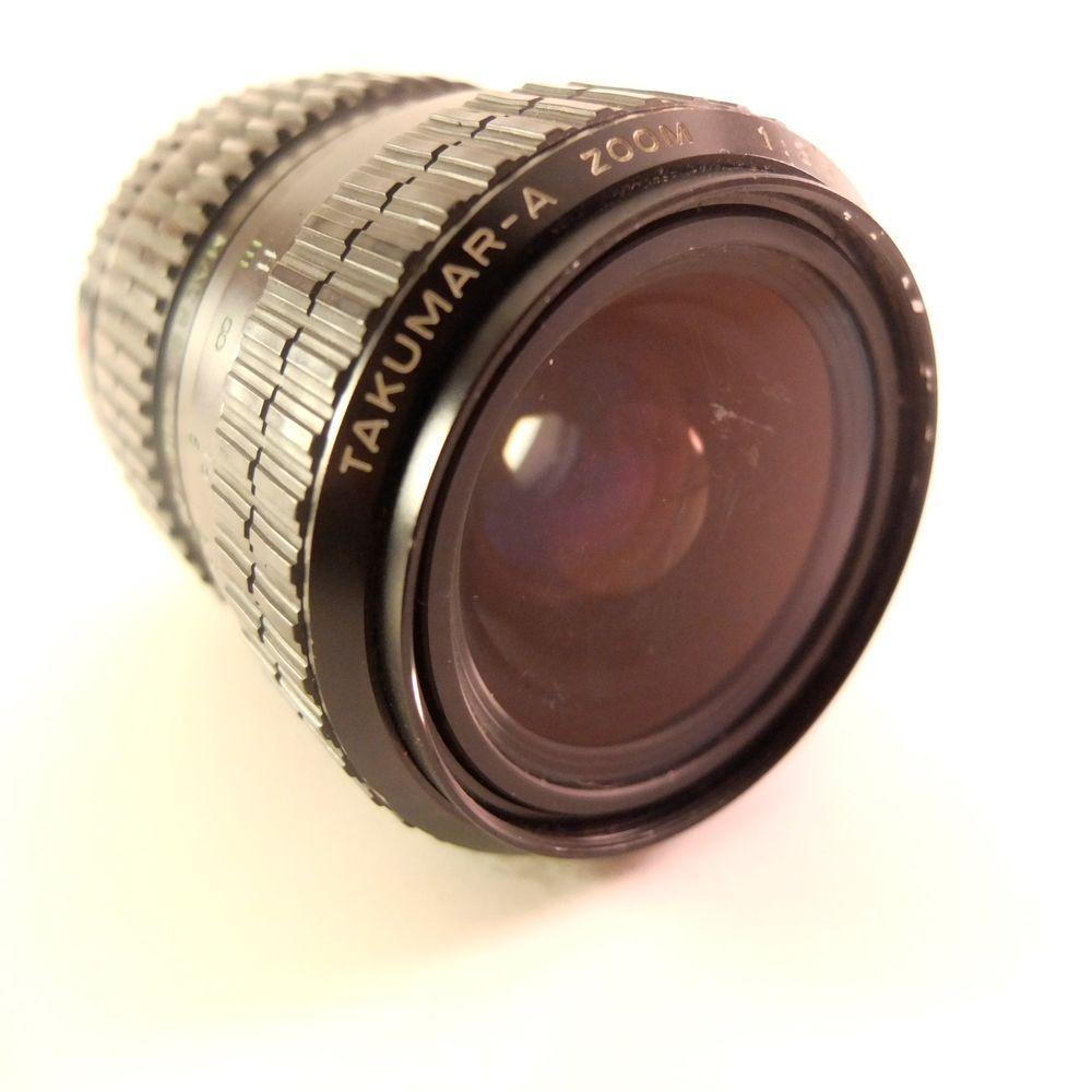 Pentax Takumar A Zoom 28 80mm F3 5 4 5 Macro No Caps For Parts Pentax 5 4 Ebay