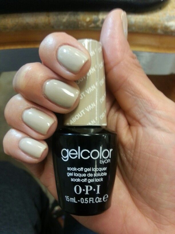 Opi gel nails. Did u \'ear about van gogh? is the color | Nails ...