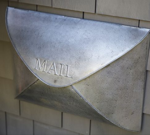 Envelope Mailbox Pottery Barn Just Ordered It Will Be The