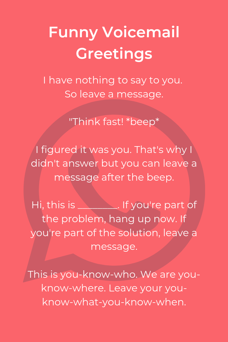 Why I check my voicemail | Funny Pictures, Quotes, Pics ... |Voicemail Funny