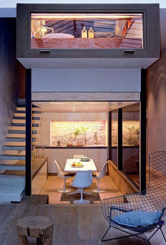 74 m2 un loft à la verticale Architecture, Lofts and Shell house