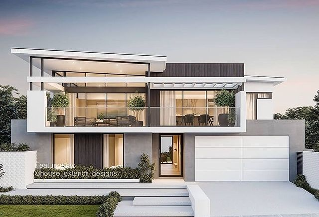 House Exterior Designs House Exterior Designs Instagram 相片與影片 House Architecture Design Modern Exterior House Designs Modern House Exterior