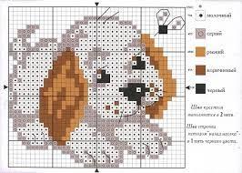 Resultado de imagen para animales en punto cruz patrones