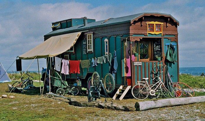 hippie new zealand campen pinterest zirkuswagen bauwagen und neuseeland. Black Bedroom Furniture Sets. Home Design Ideas