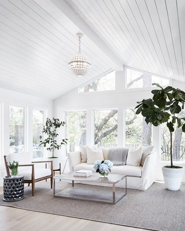 11 Stunning Vaulted Ceilings Cococozy Farm House Living Room Chic Living Room Decor Sunroom Designs