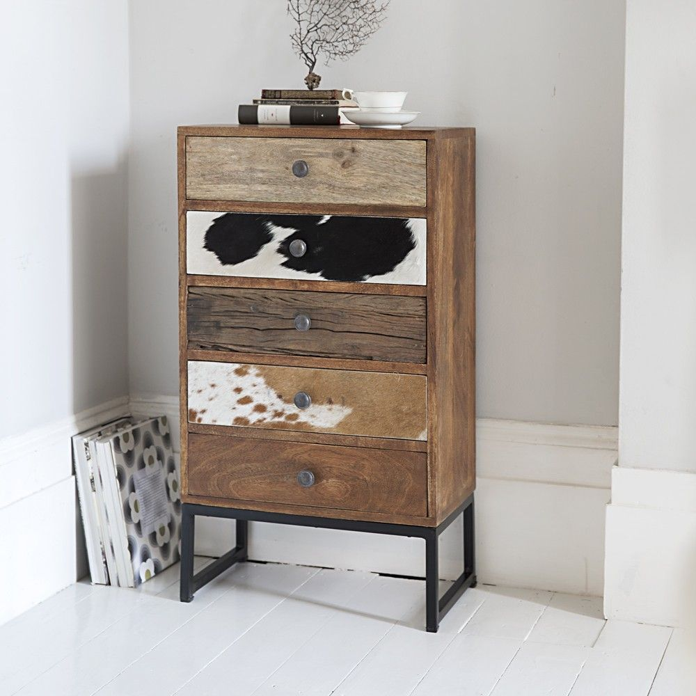 Montana 5 Drawer Cabinet