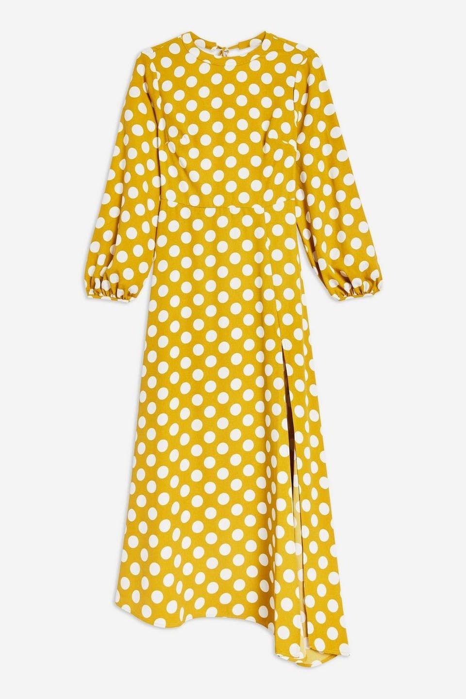 4d063f56 Yellow dress with dots from Top Shop | Skøn sommerkjole i gul - Costume.dk