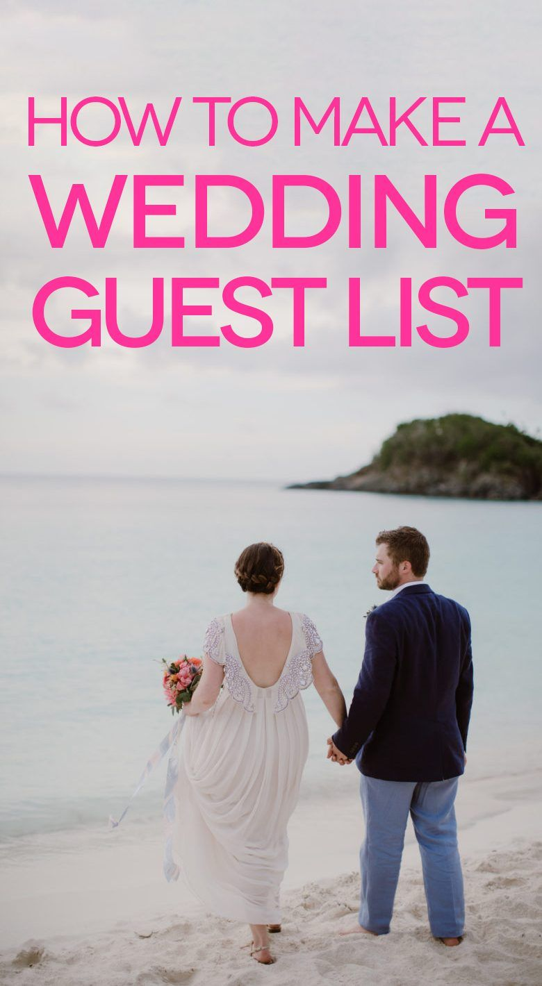 Wedding Guest List Let S Get Started A Practical Wedding Wedding Guest List Wedding Planning List Practical Wedding
