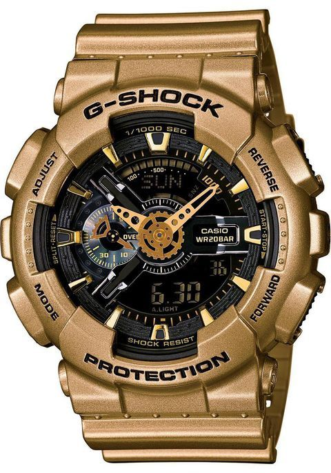 G-Shock XL Classic Gold Black -Limited Edition  4cafa127b4e5