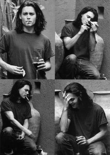 Johnny Depp | Young johnny depp, Johnny depp, Johnny d