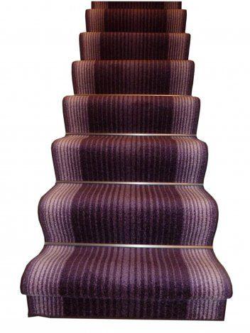 Best Capitol Purple Anti Non Slip Stair Carpet Runner At Carpet 640 x 480