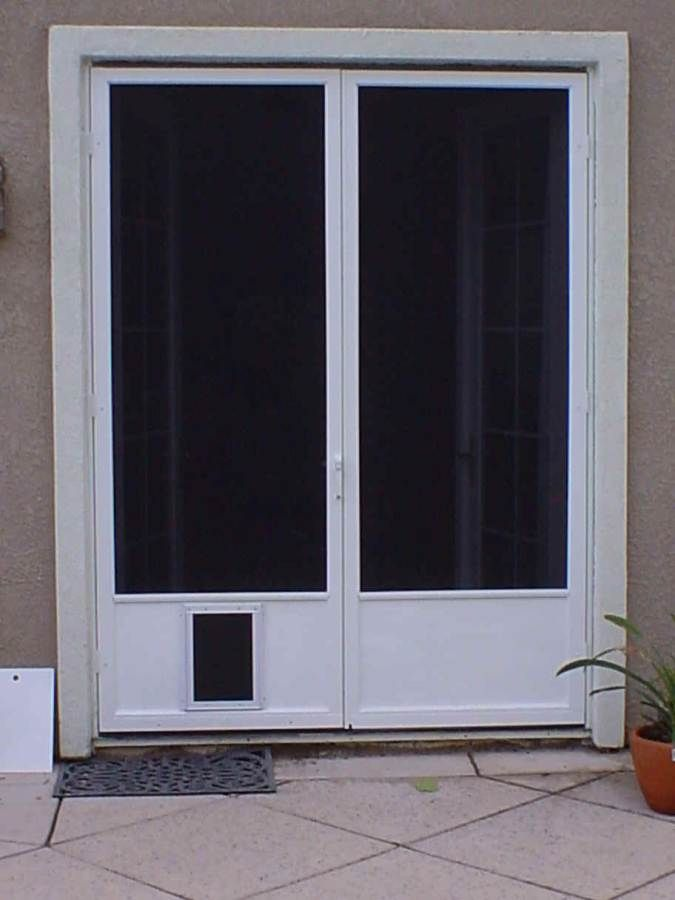 Have The Dog Doors For Sliding Doors: Doors With Built In Pet Door