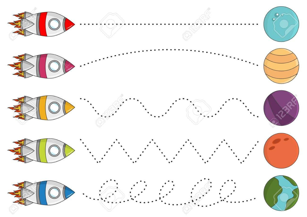 Tracing Lines Worksheets Images Worksheet For Kids Maths Fichas Actividades Grafismos [ 918 x 1300 Pixel ]
