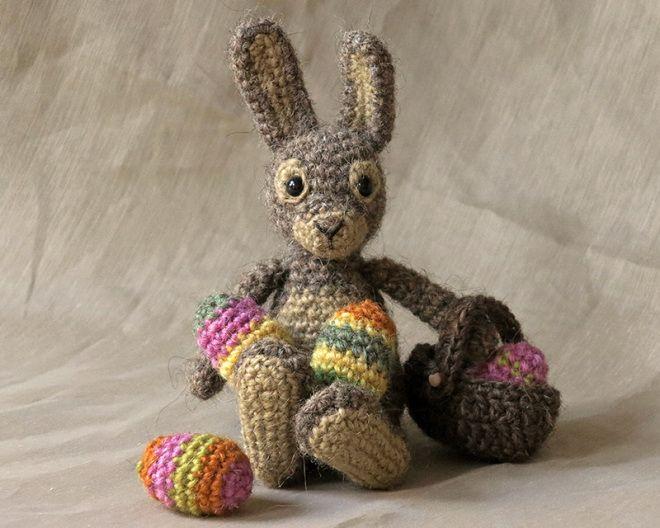 Finse, crochet Easter bunny pattern | Nyulak | Pinterest
