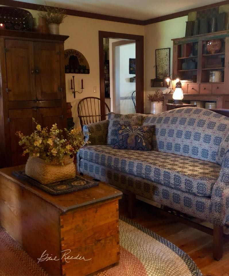 Https Www Facebook Com Photo Php Fbid 2268640876688721 Primitive Living Room Colonial Living Room Primitive Decorating Country