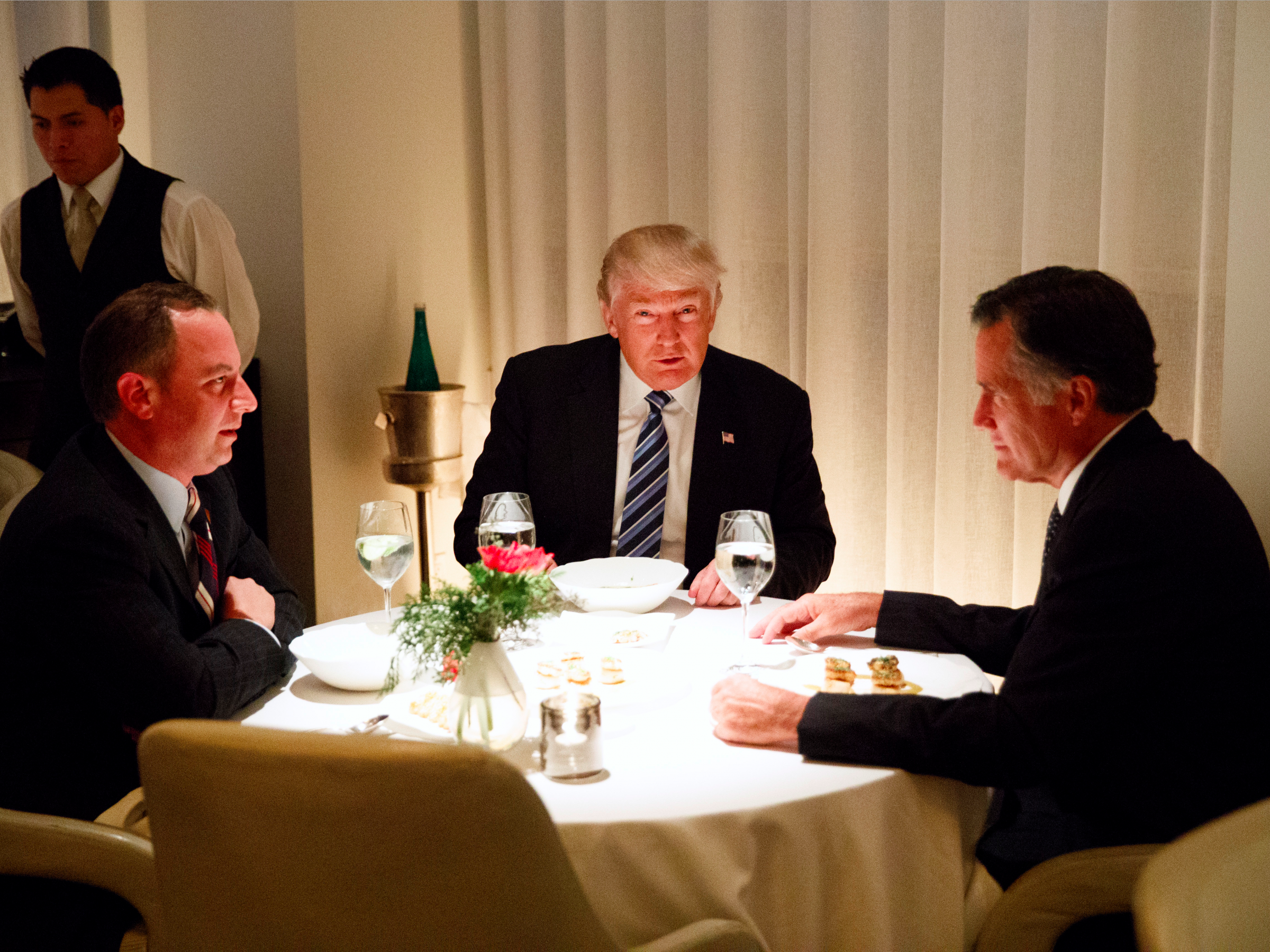 What it's like to eat at the $138-a-person restaurant where Trump dined with Mitt Romney
