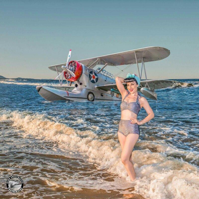 Rare float plane