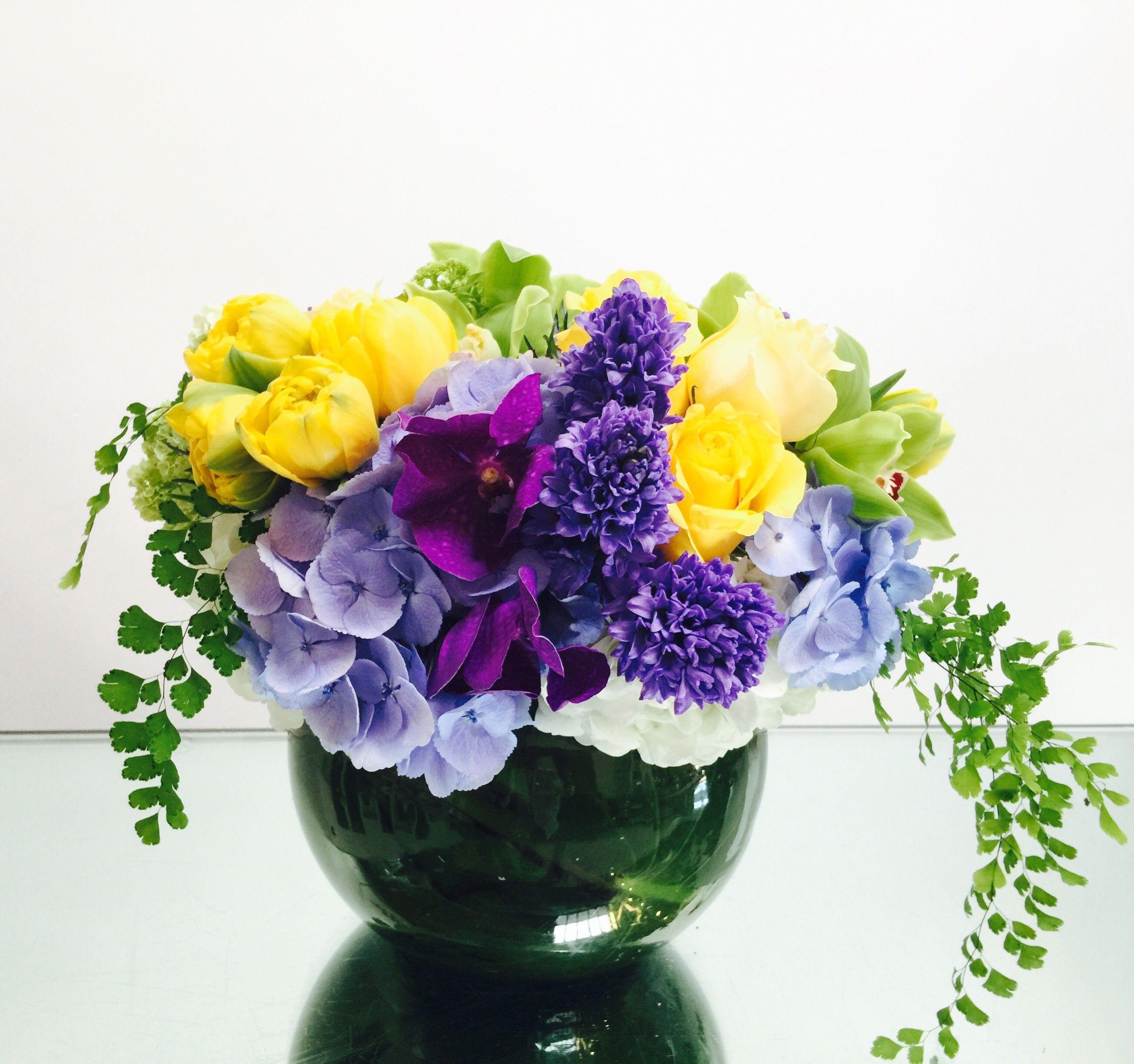 Melody Blue by LA Premier Creative flower arrangements