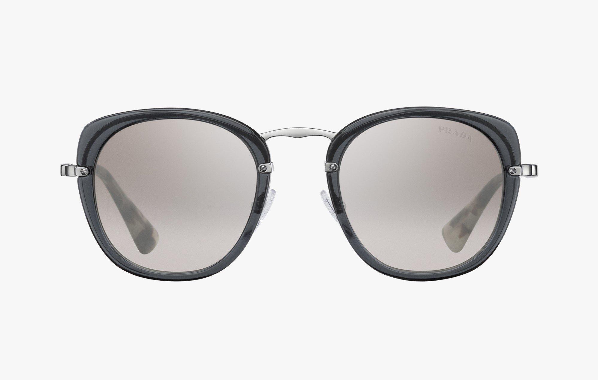 0bb9728e20 Prada SPR58U Gray   Gray Lens Sunglasses – shadesdaddy