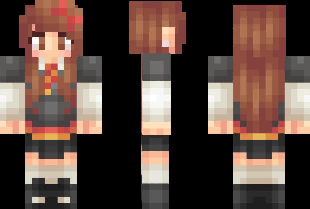 Hermione Granger – Harry Potter Minecraft Skin | Minecraft skins I ...